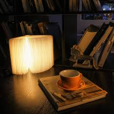 Mood Lamp Book Light Us 11 97 22 Off Rechargeable Led Mood Lighting Multi Color Night Light Wooden Foldable Book Shaped Light Perfect As Book Lamp Table Lamp In Led