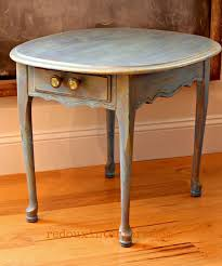 painted furniture makeover gold metallic. Boring Side Table Painted In Gorgeous Sea Glass Blue Table, Furniture, My Furniture Makeover Gold Metallic O