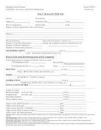 Sample Field Trip Permission Slips School Field Trip Permission Form Generic Slip Images Of