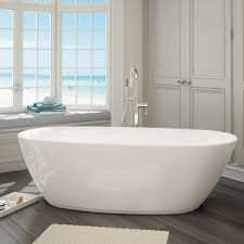 ideal setup l shaped tub shower combo w seat and in wall shelf