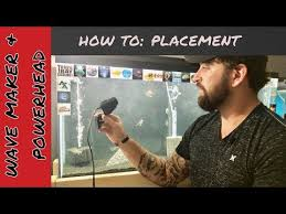 Wave Maker Size Chart Setup Aquarium Wave Maker Clean Fish Tank Youtube