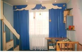Boys Bedroom Curtain Due To Kids Modern Style With Blue Children Curtains