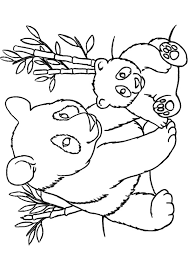 Small Picture print coloring image Panda Bears and Facebook