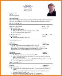 9 Example Of Resume Job Inta Cf
