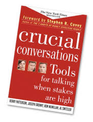 crucial conversations summary summary of crucial conversations tools for talking when the stakes