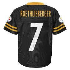 Roethlisberger Pittsburgh Jersey Ben Steelers
