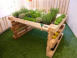 Kitchen Garden Planter This Sympathetic Diy Pallet Kitchen Garden For Herbs Was Shown At