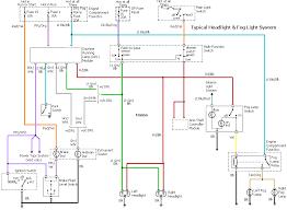 head light fog light wiring diagram headlight wiring diagram headlight wiring diagram for 2004 chevy e30