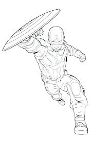 Marvel Avengers Coloring Pages Marvel Avengers Coloring Pages
