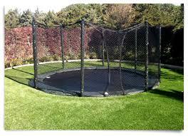in ground trampoline. AlleyOOP In-ground Trampoline Surrounded By Grass In Ground