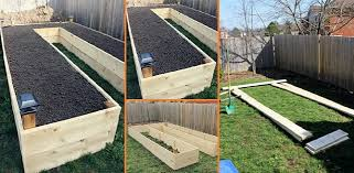 how to build a garden. Learn How To Build A U-Shaped Raised Garden Bed O