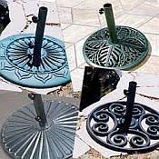 umbrella bases for outdoor patio umbrellas