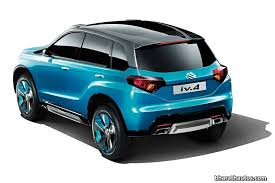 new car launches by maruti in 2015Suzuki iV4 SUV production version to debut in October launch in 2015