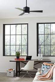with a clean modern design the vision ii ceiling fan by monte carlo has fans with lights for living room n48 for
