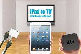 Tv Airplay Chart How To Connect An Ipad To Tv With Hdmi Or Wireless Airplay