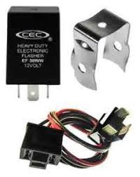 alternating auto flasher relay bracket wire harness 3 prong image is loading alternating auto flasher relay bracket wire harness 3