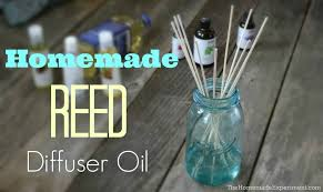 how to make homemade reed diffuser oil