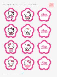 Diy Free Hello Kitty Cupcake Topper Hello Kitty Printable Free