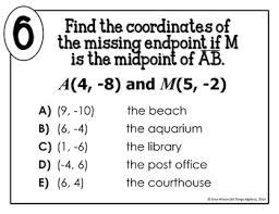 Endpoint Formula Midpoint Formula Math Lib
