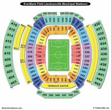 Faurot Field Seating Chart Rows 61 Veritable Everbank Stadium View From Seats