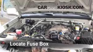interior fuse box location 1998 2004 nissan frontier 2001 blown fuse check 1998 2004 nissan frontier
