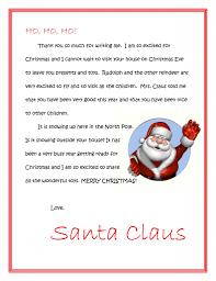 About Santa Claus Dear Santa Letters