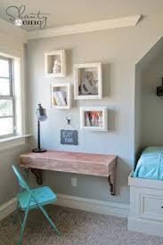 diy box frame shelves