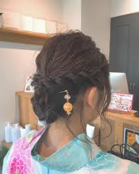 かんざしヘアアレンジ挿し方21選ロングミディアムへの使い方は Belcy