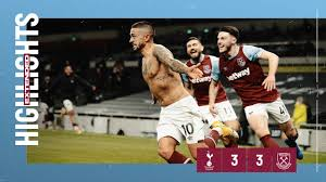 EXTENDED HIGHLIGHTS   SPURS 3-3 WEST HAM UNITED - YouTube