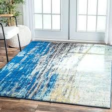 modern blue rug modern abstract vintage blue area rug 5 x ping the best deals on modern blue rug