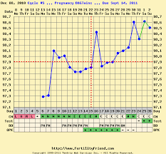 Sample Bbt Charts Showing Pregnancy Levels Early Pregnancy Online Charts Collection