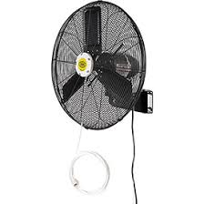 Outdoor Misting Fans Outdoor Misting Wall Mount Fans Nongzico