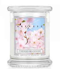 Kringle Candle <b>Cherry</b> Blossom - <b>Ароматическая свеча</b> в банке ...