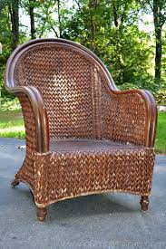 wicker furniture. Perfect Wicker How To Paint Wicker Furniture With A Brush1 With I
