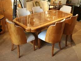 art deco dining furniture. epstein art deco dining table and chairs furniture r