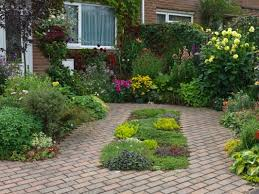 First impressions count at a house entrance, so front garden design must  balance paths, flowers, parking and bins