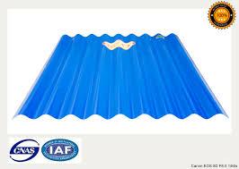 pvc roofing sheet corrugated big wave design 900mm width