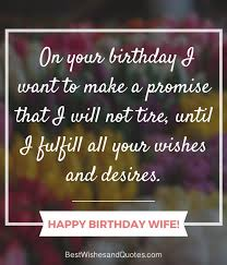 Birthday Quotes For Wife Fascinating Happy Birthday Wife Say Happy Birthday With A Lovely Quote