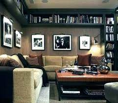 man cave living room