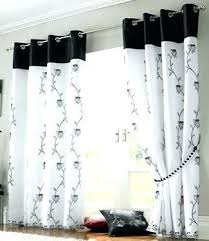 Black And White Curtain Ideas Best Blackout Curtains Ideas On Window ...