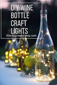 Lights For Wine Bottles Wine Bottle Lights Bottle Lights Table Decor Wine Decorwedding