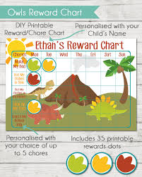 Printable Reward Chart Dinosaurs Printable Reward Charts