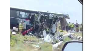 Seven dead in New Mexico after bus collides with truck - World News