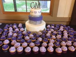 White And Purple Wedding Cake Cakecentralcom