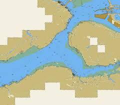 Inland Waterways 1r5mg001 Marine Chart Ii_1r5mg001