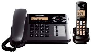 panasonic kx tg6461 et corded cordless dect phone with answering machine