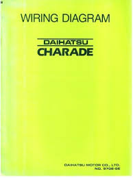 daihatsu daihatsu charade 1988 wiring diagram manual