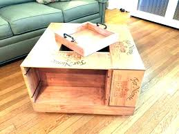 crates coffee table wine crate table wine crate coffee table for wine box coffee table