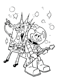Coloring Pages Nickelodeon Characters Nick Jr Printable Coloring