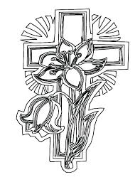 Free Cross Coloring Pages The Printable Sheets P Betterfor